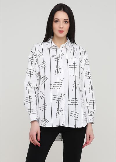 Біла демісезонна блузка Sweet Miss