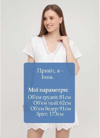 Белая летняя блуза Onlys