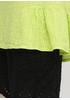 Лаймовая летняя блуза Made in Italy