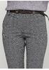 Серые демисезонные зауженные брюки Made in Italy