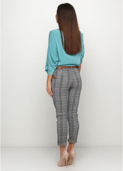 Серые демисезонные зауженные брюки New Collection