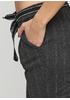 Графитовые демисезонные зауженные брюки Made in Italy