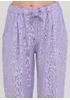 Сиреневые кэжуал летние зауженные брюки Made in Italy