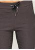 Серо-коричневые демисезонные зауженные брюки New Collection