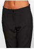 Черные демисезонные со средней талией брюки Baratto