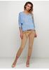 Бежевые летние зауженные брюки New Collection