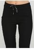 Черные демисезонные зауженные брюки New Collection