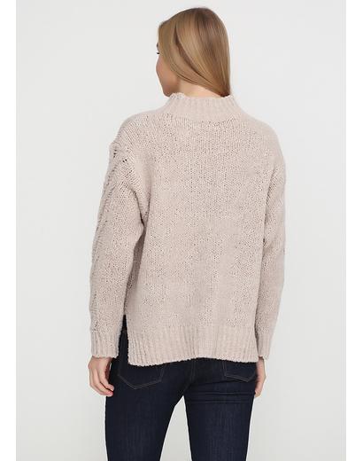 Бежевый свитер джемпер Dins Tricot