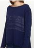 Синий свитер джемпер G-Ysual 1988