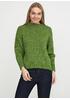 Зеленый свитер джемпер Pretty
