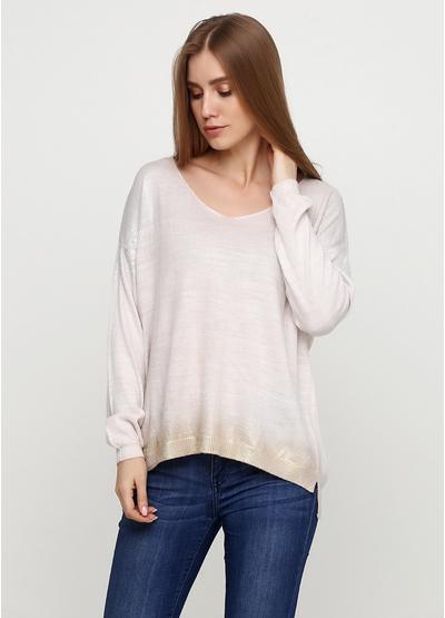 Розовый свитер пуловер HR