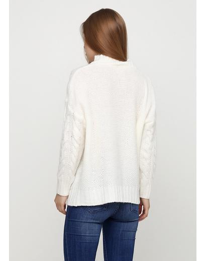 Белый свитер Pretty Style