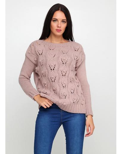Светло-розовый свитер джемпер G-Ysual 1988