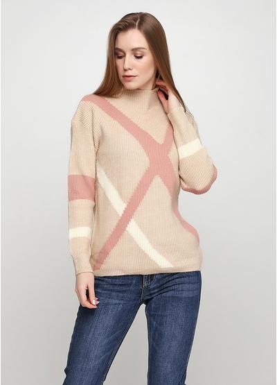Бежевый свитер N&P