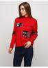 Красный свитер N&P