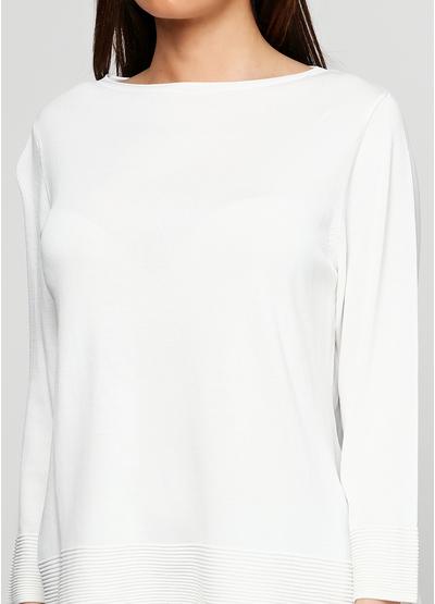 Бежевый свитер джемпер E-Woman
