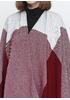 Пончо G-Ysual 1988 однотонное бордовое