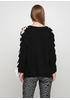 Черный свитер джемпер Melody