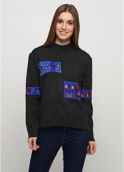 Темно-серый свитер N&P