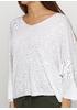 Белый свитер пуловер Pretty Style