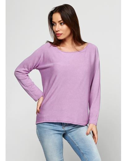 Сиреневый свитер джемпер Alpini Knitwear