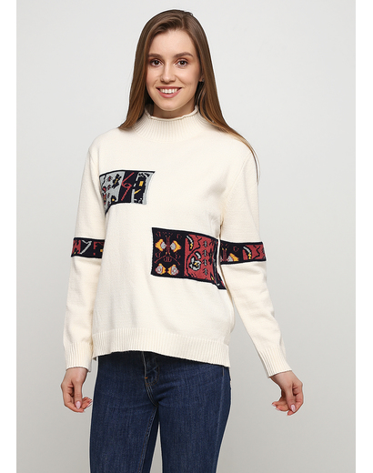 Молочный свитер N&P