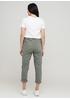 Джинси New Collection завужені, вкорочені однотонні хакі джинсові бавовна