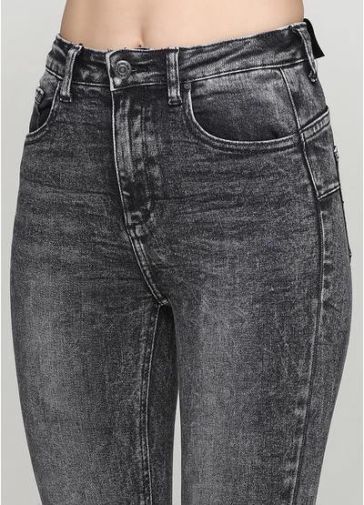 Черные демисезонные джинсы Miss BonBon