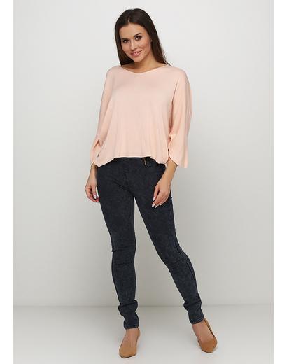 Черные демисезонные зауженные джинсы Hanel Haute