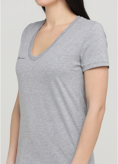 Сіра літня футболка Made in Italy