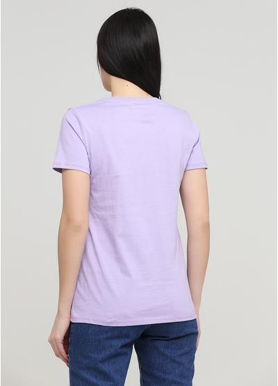 Лілова літня футболка Made in Italy