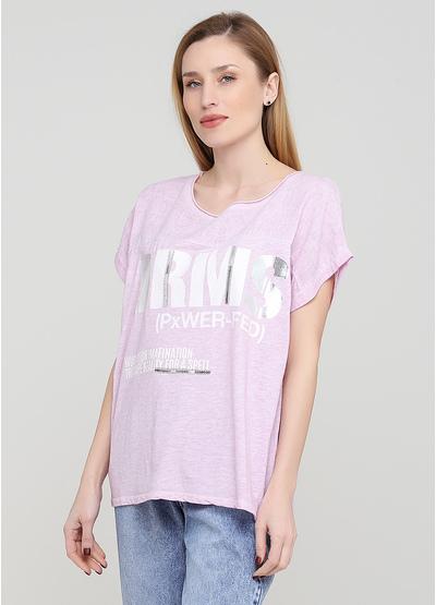 Бузкова літня футболка Made in Italy