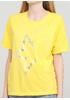 Жовта літня футболка Made in Italy