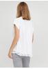 Белая летняя футболка Made in Italy