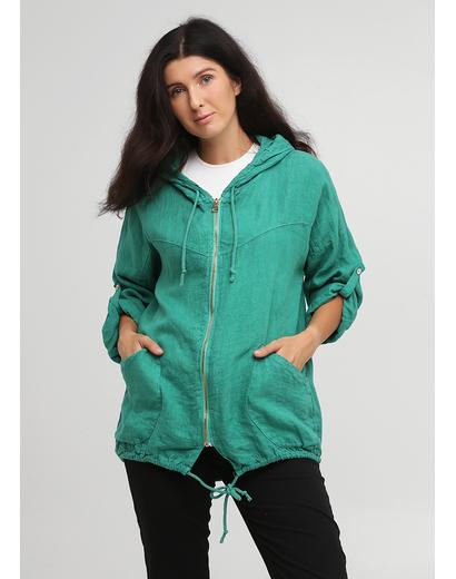 Зеленая летняя ветровка Made in Italy