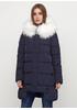 Темно-синяя зимняя куртка Monte Cervino
