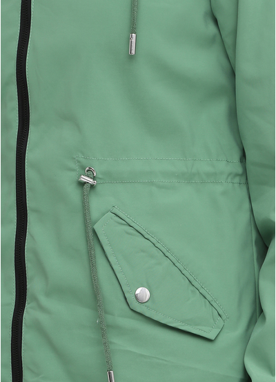 Зеленая демисезонная куртка Artika icewear