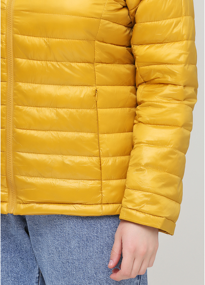 Жовта демісезонна куртка W Collection