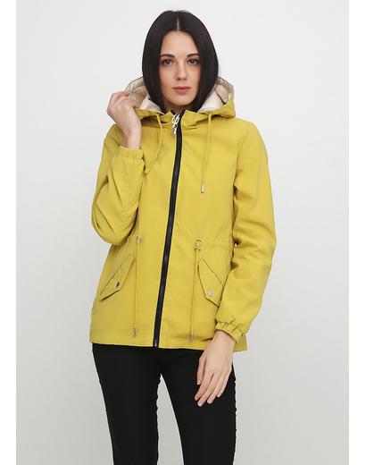 Желтая демисезонная куртка Artika icewear