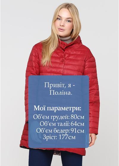 Красная демисезонная куртка ZOTENO