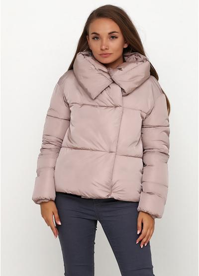 Розовая демисезонная куртка Maps Girl