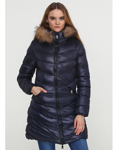 Темно-синяя зимняя куртка Macleria