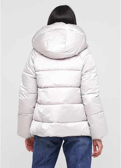 Серая зимняя куртка Monte Cervino