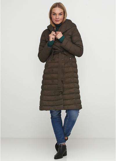 Оливковая (хаки) зимняя куртка Save Style