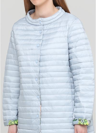 Блакитна демісезонна куртка Finery