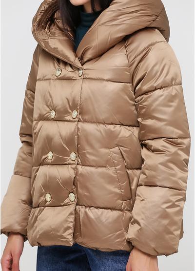 Бежевая зимняя куртка Monte Cervino