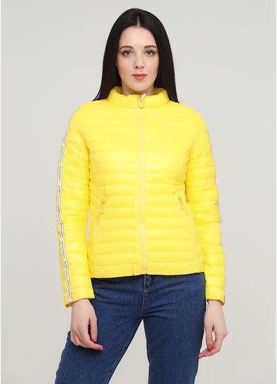 Жовта демісезонна куртка Z Design