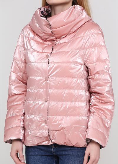 Рожева демісезонна куртка New Collection