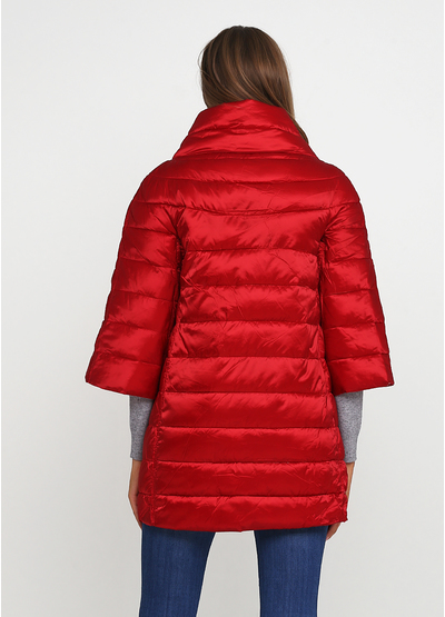 Красная демисезонная куртка U Collection