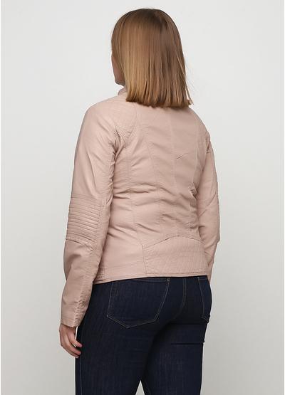 Пудровая демисезонная куртка New Age